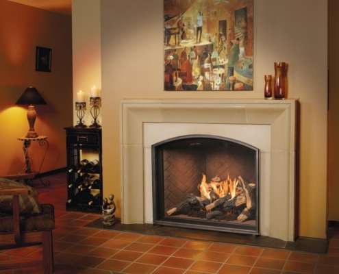 Town & Country TC 36 Arch Fireplace Victoria BC