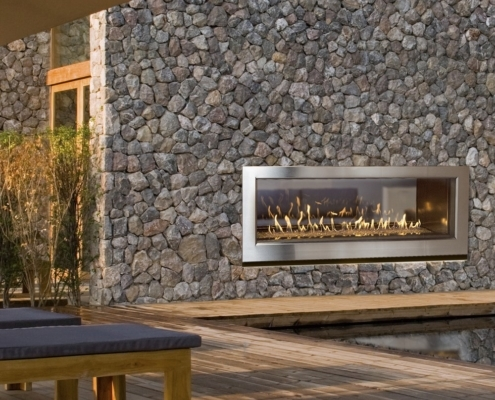 Town & Country WS54ST Hybrid Fireplace