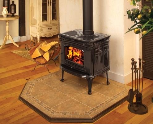 Pacific Energy Alderlea T4 Classic Cast Iron Wood Stove Victoria BC