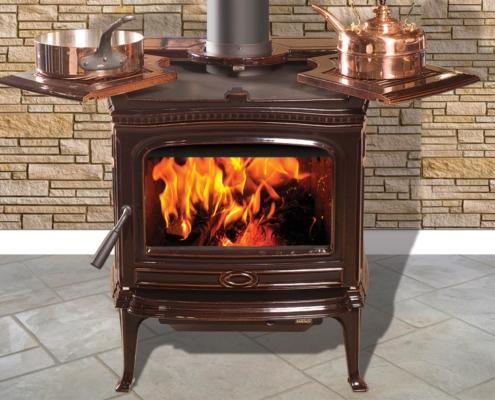 Pacific Energy Alderlea T5 Classic Cast Iron Wood Stove Victoria BC