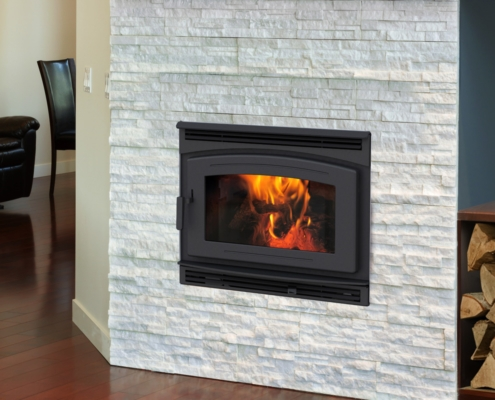 Pacific Energy FP30 Arch Wood Fireplace Victoria BC