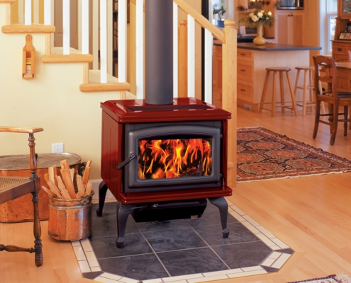 Pacific Energy Summit Classic Wood Stove Victoria BC