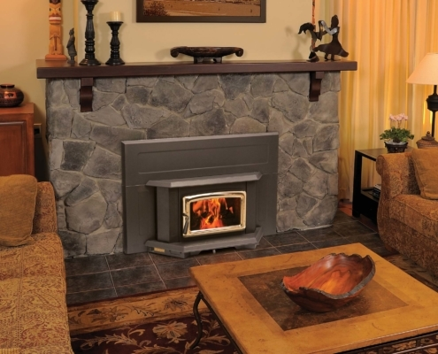 Pacific Energy Summit Wood Insert Fireplace Victoria BC