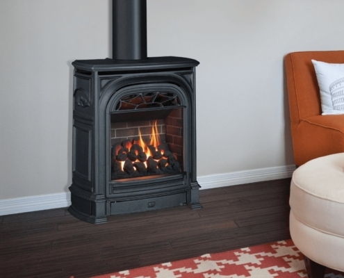 Valor Portrait Freestanding Fireplace Victoria BC