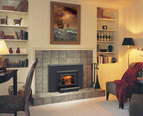 Pacific Energy Vista Wood Insert Fireplace Victoria BC