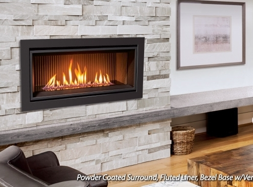 Enviro C34 Linear Gas Fireplace