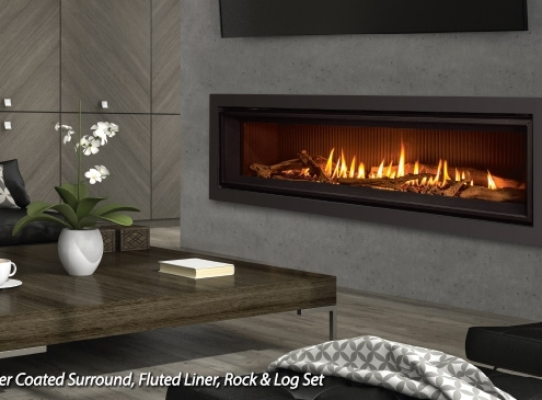 Enviro C60 Linear Gas Fireplace