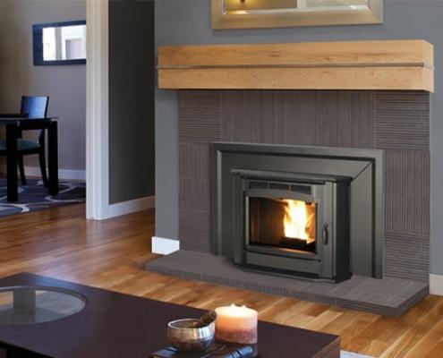 Enviro Milan Pellet Fireplace Insert