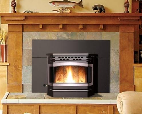 Enviro Meridian Pellet Fireplace Insert