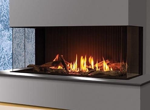 The U50 Urbana Gas Fireplace