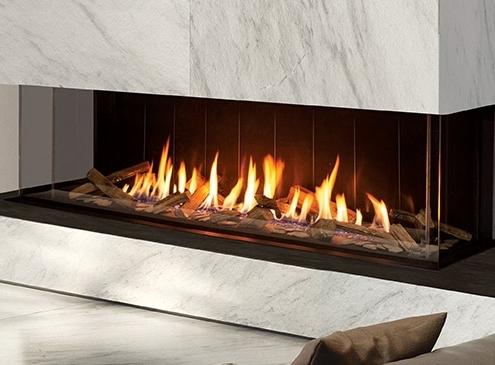 The U70 Urbana Gas Fireplace