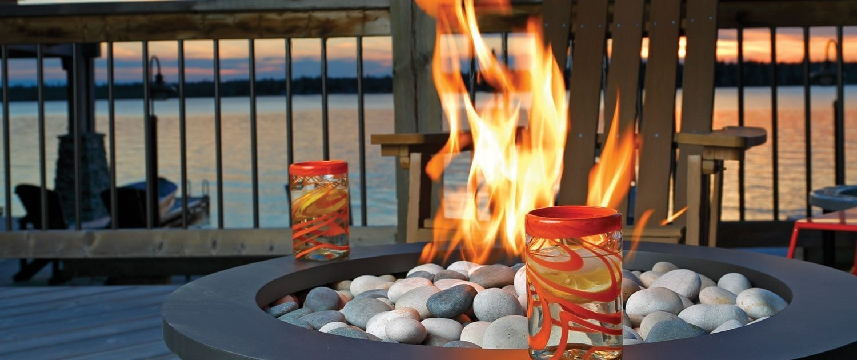 bola fire bowls